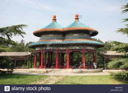 Water Cube Běijīng | The Double Ring Longevity Pavilion in the Temple of Heaven park ...
