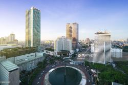 Welcome Monument Jakarta | The Welcome Monument A Landmark In Jakarta With City Skyline Stock ...
