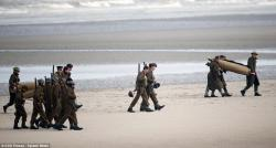 Well of a Thousand Soldiers Makung | Soldiers and warships line the beach to film Harry Styles' movie ...