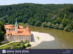 Weltenburg Abbey Franconia and the German Danube | Kloster Weltenburg Stock Photos & Kloster Weltenburg Stock Images ...
