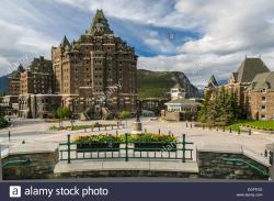 Whyte Museum of the Canadian Rockies Banff Town   The Fairmont Banff Springs Hotel in the town of Banff, Banff ...