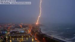 Wind Wand New Plymouth   Lightning Hits New Plymouth Wind Wand - YouTube