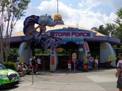 Woody Woodpecker's Nuthouse Coaster Universal Orlando | SpiderFan.org - Shows : Storm Force Accelatron