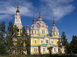Zenkov Cathedral Almaty | Zenkov Cathedral in Almaty -MonkBoughtLunch
