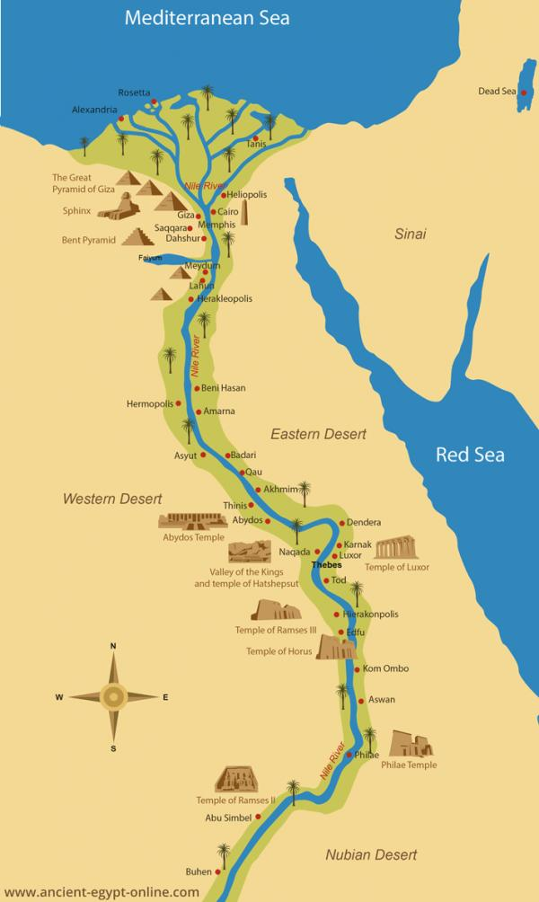Abydos Northern Nile Valley
