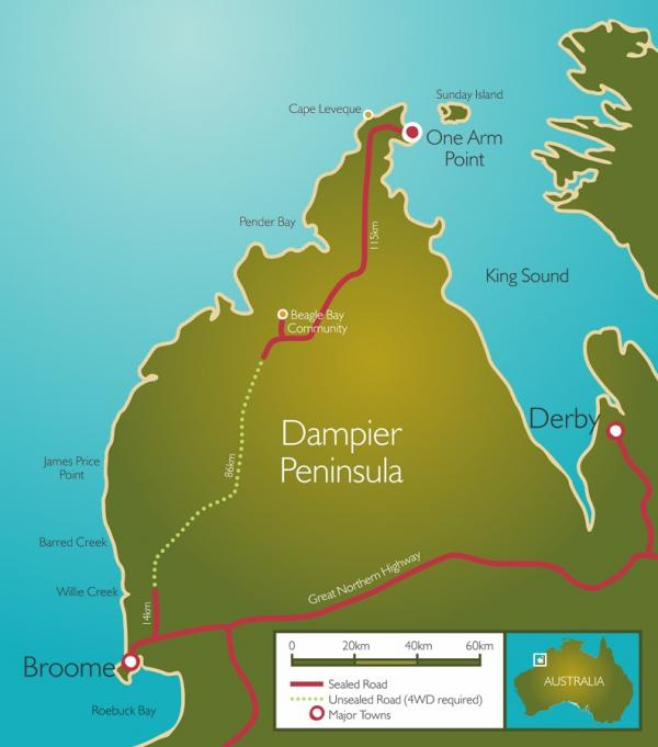Ardyaloon (One Arm Point) Dampier Peninsula