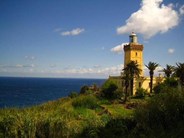 Cap Spartel Lighthouse Tangier and the Mediterranean