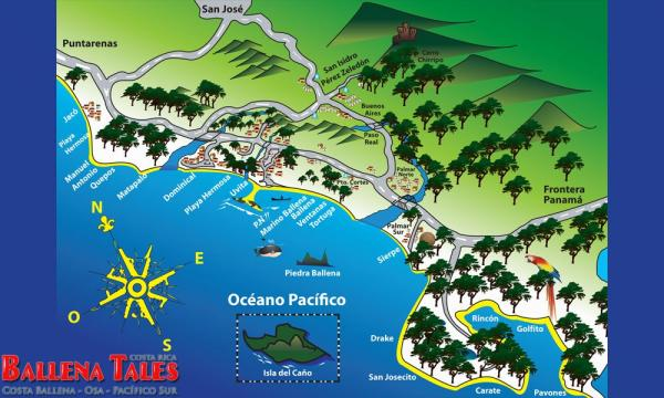 Ballena National Marine Park The Osa Peninsula and the South Pacific
