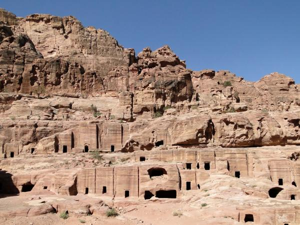 Edomite Village Ruins The Ancient City