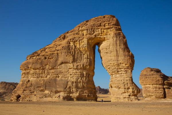 Elephant Rock Northern Saudi Arabia