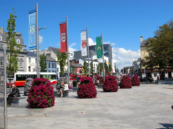 Eyre Square Galway City