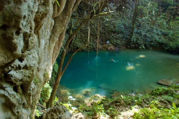 St. Herman's Blue Hole National Park The Cayo District