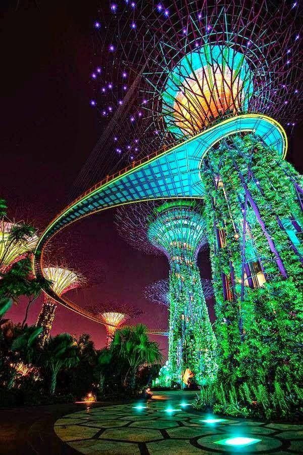 Gardens by the Bay Malaysia, Singapore & Brunei