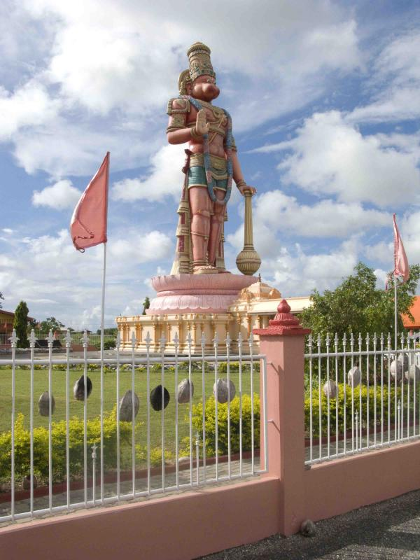 Hanuman Murti and Sri Dattatreya Ashram West Coast