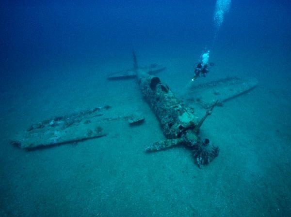 Japanese Aircraft Wrecks Around Rabaul