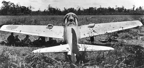 Japanese Zero Fighter Peleliu