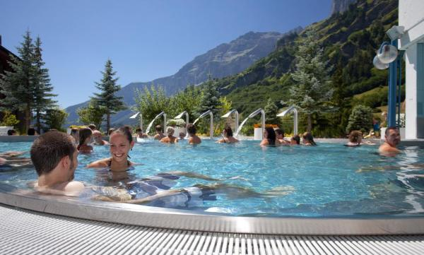Leukerbad Therme Valais