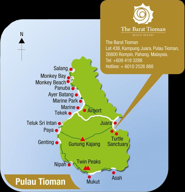 Monkey Beach Pulau Tioman