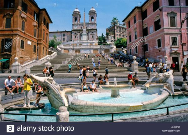Piazza di Spagna & the Spanish Steps Rome
