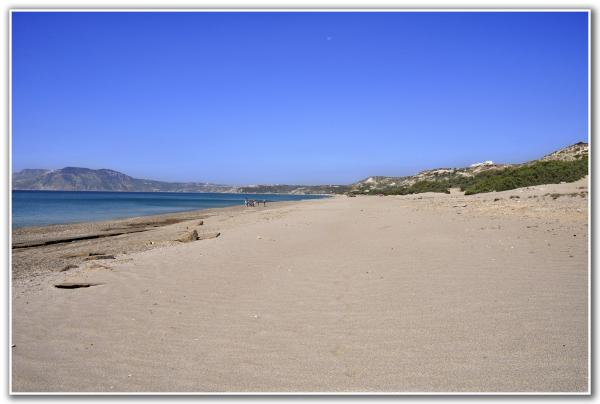 Polemi Beach Rhodes and the Dodecanese
