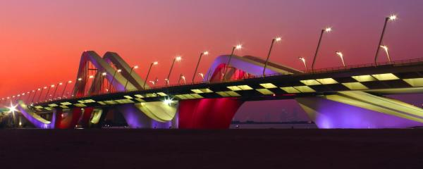 Sheikh Zayed Bridge Abu Dhabi