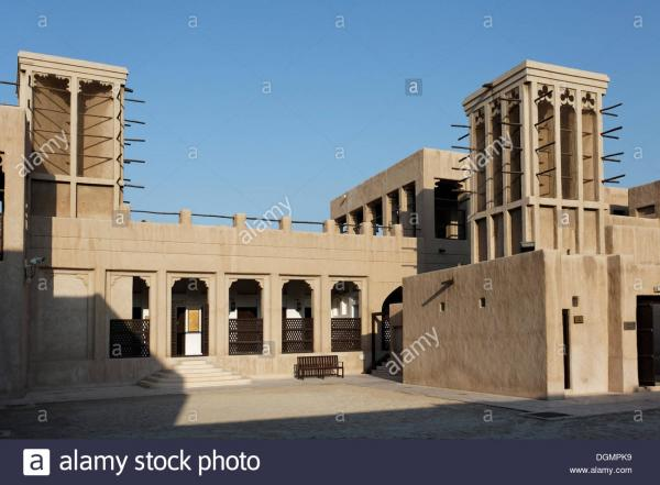 Al Shindagha historic neighborhood Dubai