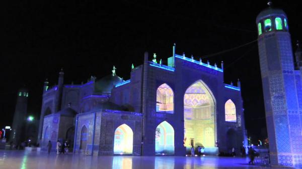 Shrine of Hazrat Ali Mazar-e Sharif