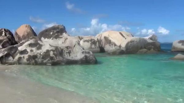 Spring Bay Beach Virgin Gorda