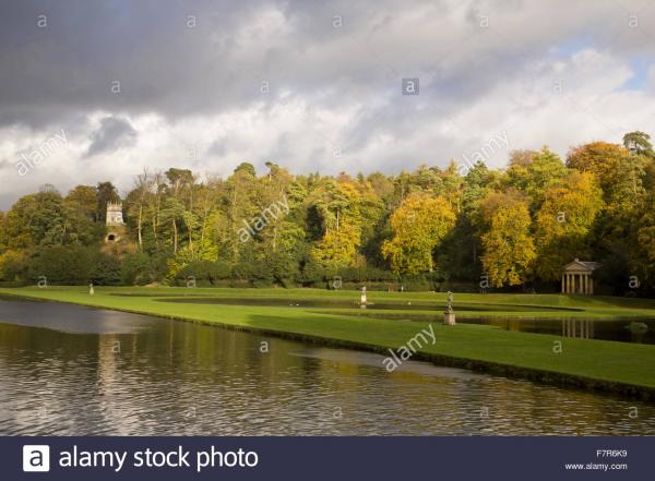 Studley Royal Water Garden & Fountains Abbey Yorkshire