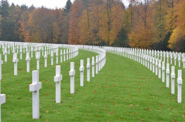 US Military Cemetery Luxembourg City