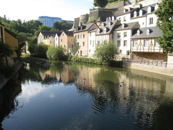 Vallée de la Pétrusse Luxembourg City