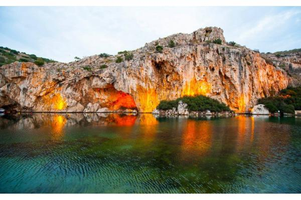 Vouliagmeni Lake Attica and Delphi