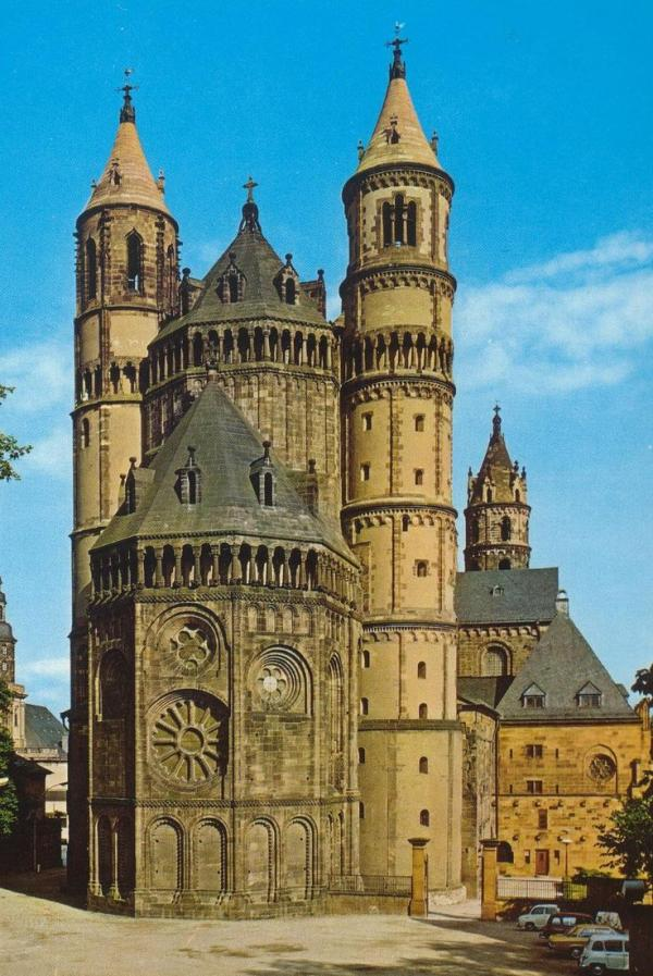 Wormser Dom St. Peter The Pfalz and Rhine Terrace