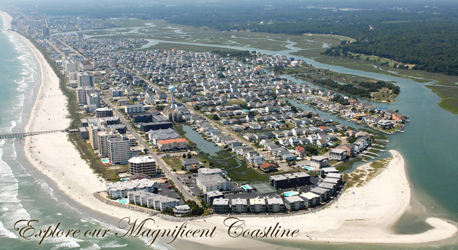 Myrtle Beach And The Grand Strand North Als View