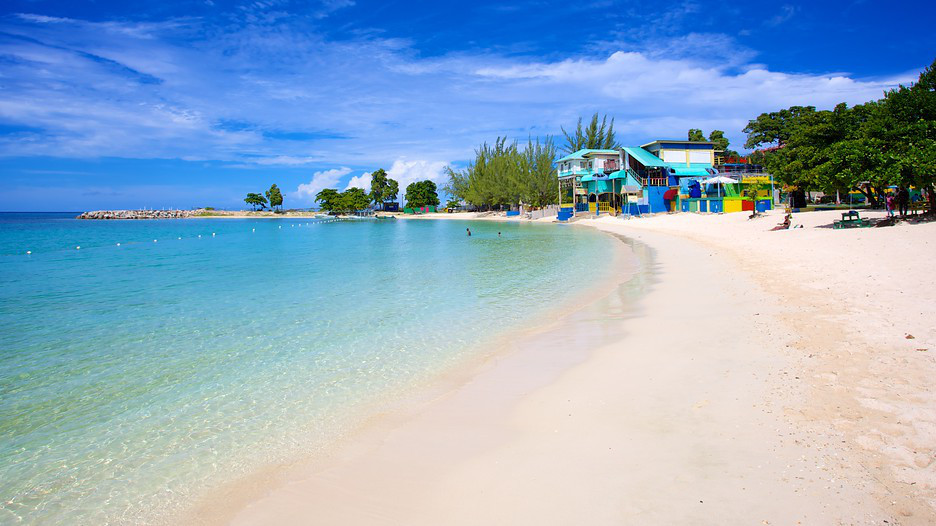 Walter Fletcher Beach Aquasol Theme Park Montego Bay Turquoise Beaches With Crystal Clear Waters View